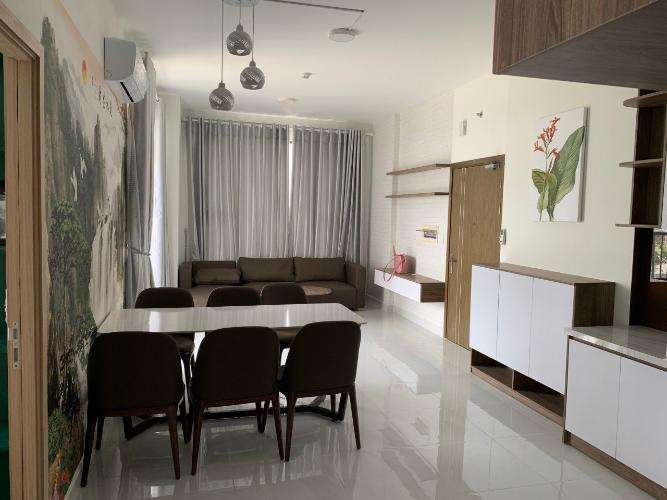 Phòng khách Jamila Khang Điền, Quận 9 Căn hộ Jamila Khang Điền tầng thấp, view thành phố thoáng mát.