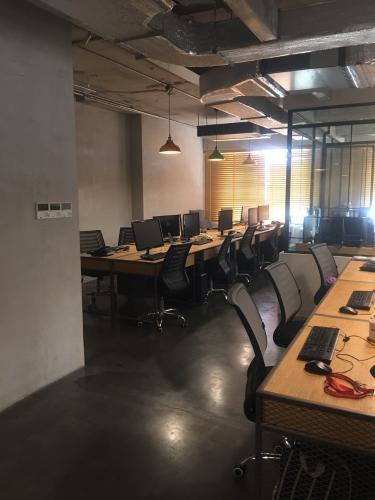 Căn hộ The Gold View, Quận 4 Căn hộ The Gold View nội thất văn phòng, ban công hướng Tây Nam.
