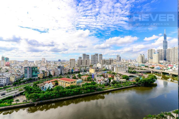 View Bán căn hộ Vinhomes Golden River 2PN, tháp The Aqua 1, đầy đủ nội thất, view trực diện sông Sài Gòn