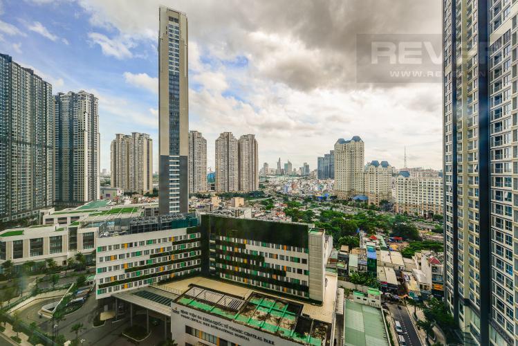 View Căn hộ Vinhomes Central Park tầng thấp tòa Landmark 3, 2 phòng ngủ, full nội thất