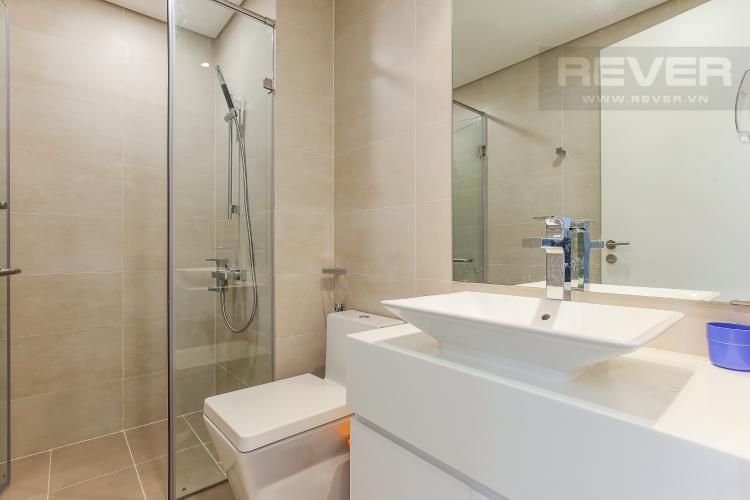Phòng Tắm 1 Cho thuê căn hộ Masteri Millennium Quận 4 tầng cao, 2PN, đầy đủ nội thất