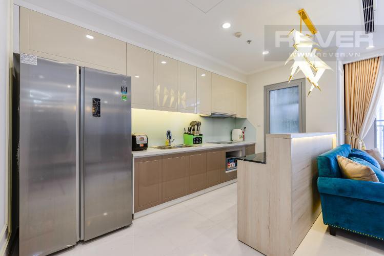 Bếp Căn góc Vinhomes Central Park 3 phòng ngủ tầng trung Landmark 5