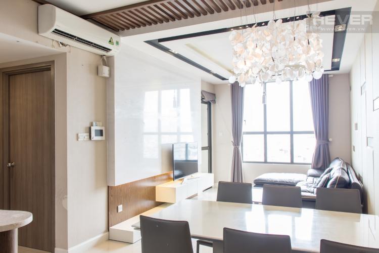 Phòng Khách Bán căn hộ Icon 56 3PN, tầng thấp, đầy đủ nội thất, đã có sổ hồng
