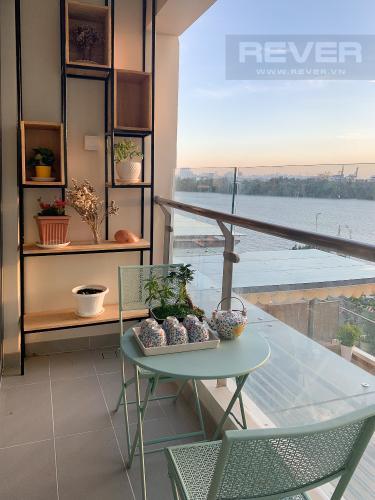 View Balcony Cho thuê căn hộ Diamond Island - Đảo Kim Cương, tháp Maldives, đầy đủ nội thất, view sông và Landmark 81