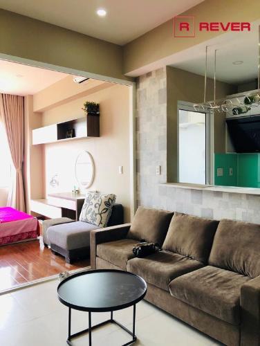 Bán căn hộ Lexington Residence 1PN, tầng cao, diện tích 48m2, đầy đủ nội thất, view đại lộ Mai Chí Thọ