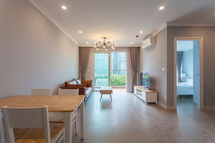 Căn hộ Vista Verde tầng thấp, tháp T1, 2 phòng ngủ, full nội thất