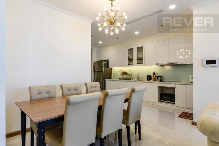 Phòng Ăn & Bếp Căn hộ Vinhomes Central Park, tháp Landmark Plus, 2PN đầy đủ nội thất