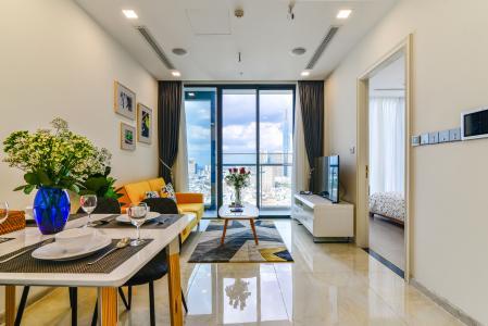Căn hộ Vinhomes Golden River 2PN đầy đủ nội thất view đẹp
