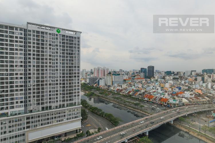 View Căn hộ Masteri Millennium tầng cao, block A, 2PN đầy đủ nội thất