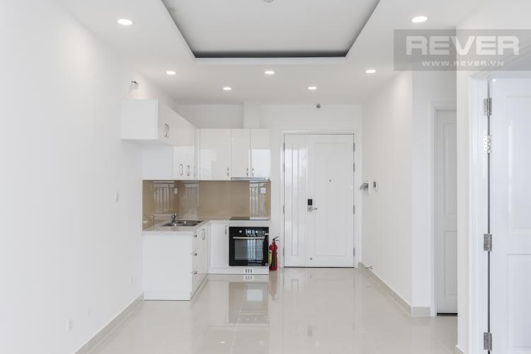 Phòng Khách & Bếp Bán hoặc cho thuê căn hộ Saigon Mia 2PN, tầng thấp, diện tích 65m2, nội thất cơ bản