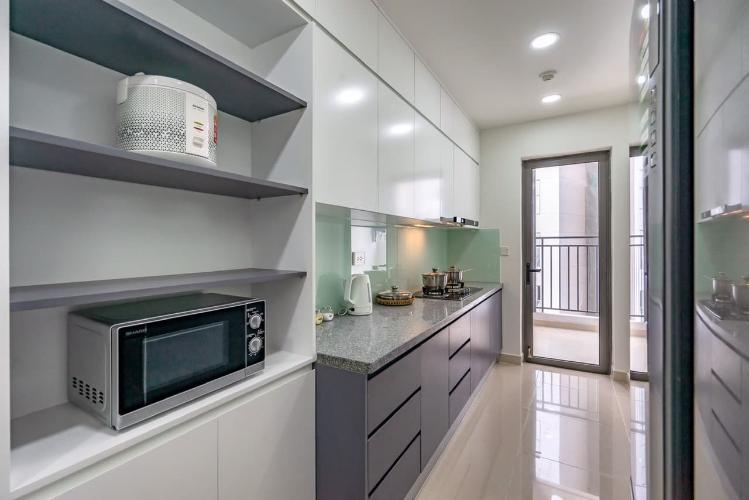 phòng bếp căn hộ The Tresor Căn hộ tầng trung The Tresor thiết kế hiện đại, không gian thoáng mát