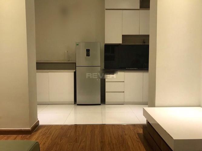 Phòng bếp I-Home 1, Gò Vấp Căn hộ I-Home 1 tầng thấp, cửa chính hướng Tây Bắc