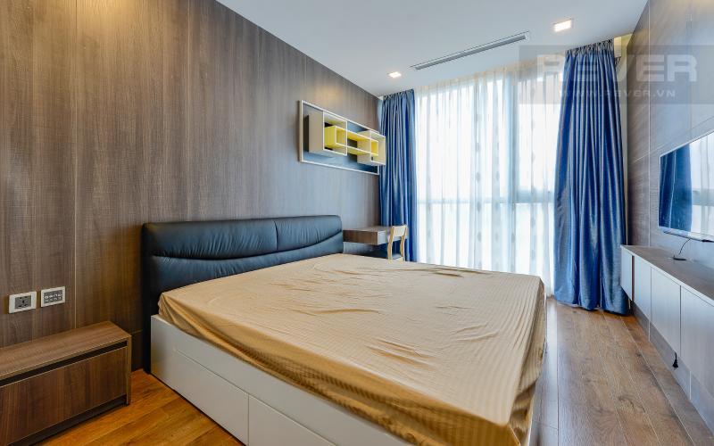 phòng ngủ 2 Căn hộ 2 phòng Vinhomes Central Park tại Park 6 tầng cao, tiện nghi và yên tĩnh