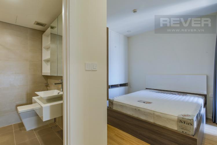 Phòng Ngủ 1 Căn hộ Masteri Millennium tầng cao, block B, 2PN nội thất đầy đủ