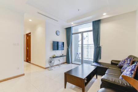 Căn hộ Vinhomes Central Park 2 phòng ngủ tầng cao C2 nội thất đầy đủ