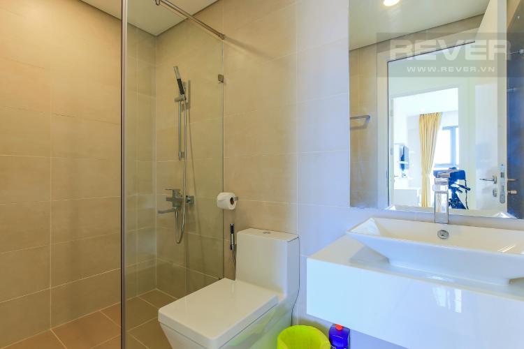 Phòng Tắm 2 Cho thuê căn hộ Masteri Millennium tầng trung, đầy đủ nội thất, 2PN