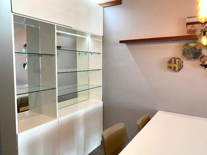 Khu vực ăn căn hộ Hoàng Anh Thanh Bình Căn hộ Hoàng Anh Thanh Bình tầng cao, view ngắm trọn thành phố.