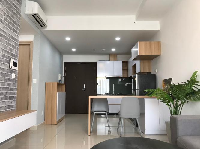 Nhà bếp Căn hộ RiverGate Residence tầng cao, ban công hướng Tây Nam.