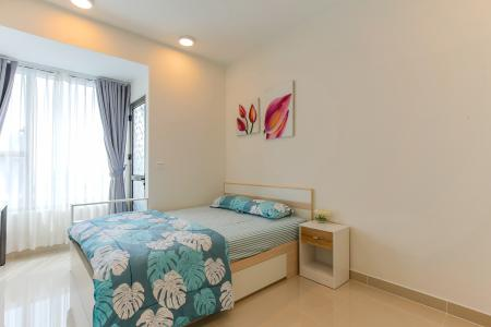 Officetel RiverGate Residence 1 phòng ngủ tầng trung tháp B nội thất đầy đủ