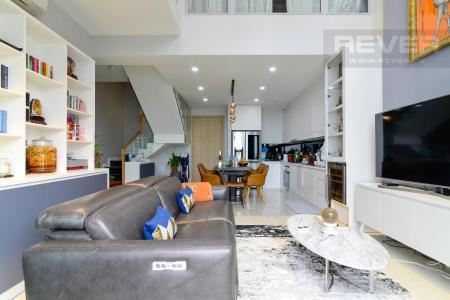 Bán căn hộ duplex Estella Heights 3PN, tầng trung, đầy đủ nội thất, view Xa lộ Hà Nội