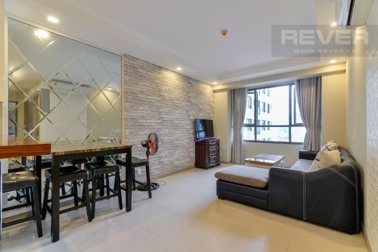 Phòng Khách Bán căn hộ The Gold View 2PN, tháp A, diện tích 67m2, đầy đủ nội thất