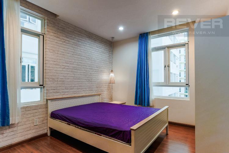 Phòng Ngủ 2 Căn hộ Him Lam Riverside 2 phòng ngủ tầng trung nội thất đầy đủ