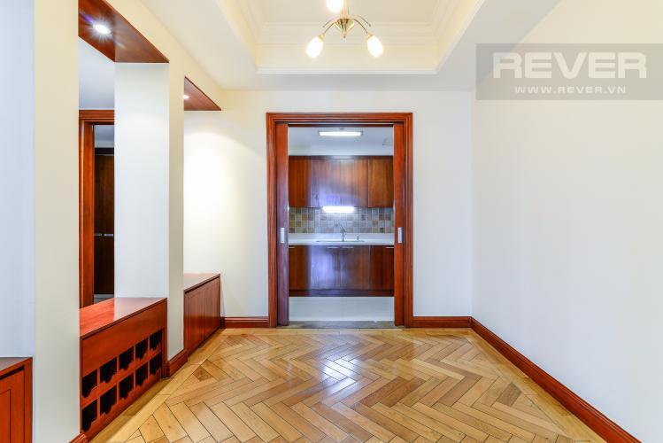 Khu Vực Phòng Ăn & Bếp Căn hộ The Manor 3 phòng ngủ tầng trung tháp G nhà trống