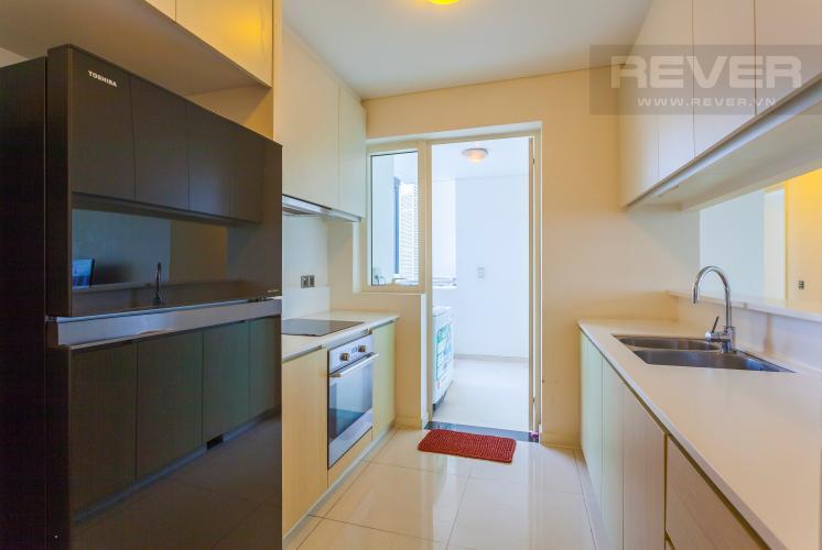 Nhà bếp Căn hộ Estella tầng cao tháp 3B, thiết kế đẹp, đầy đủ tiện nghi