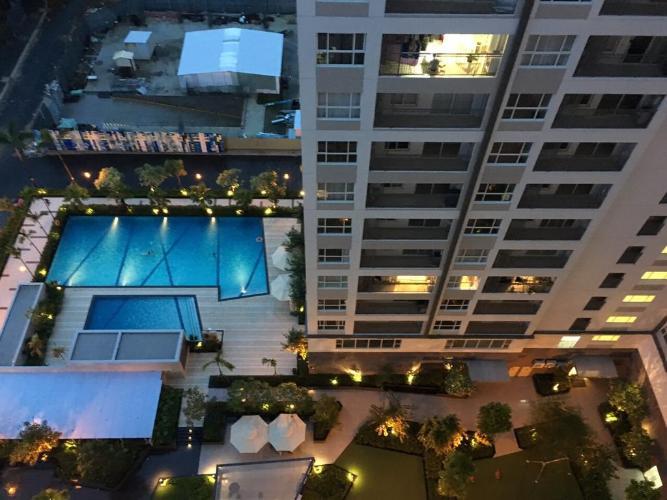 Tiện ích Sunrise Riverside Căn hộ Officetel Sunrise Riverside tầng trung, view đường nội khu.
