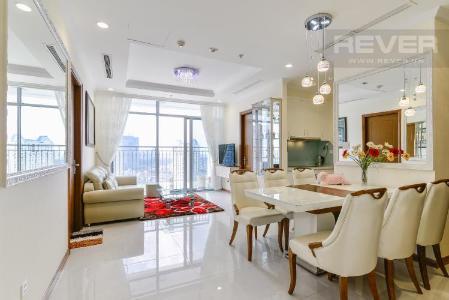Bán căn hộ Vinhomes Central Park 3PN, tháp Landmark 2, đầy đủ nội thất, view thành phố