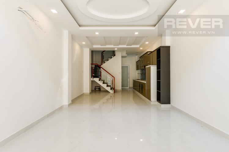Phòng khách Nhà phố 3 phòng ngủ hẻm đường Lê Quang Định Bình Thạnh