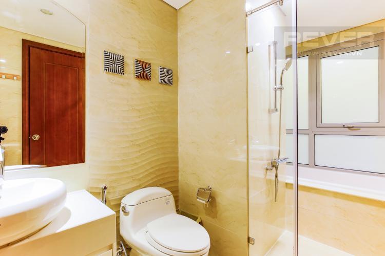 Phòng Tắm 2 Căn hộ Vinhomes Central Park tầng cao Central 2 thiết kế hiện đại, trẻ trung