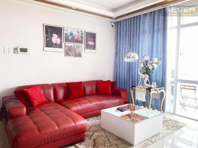 Bán căn hộ Him Lam Riverside 3PN, tầng thấp, diện tích 145m2, đầy đủ nội thất