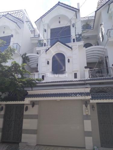Mặt tiền nhà phố Huỳnh Tấn Phát, Nhà Bè Nhà phố hướng Đông Nam, hẻm xe hơi, diện tích 80m2.