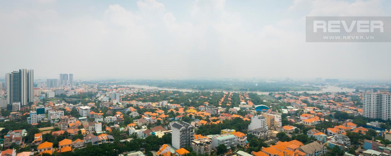 View Căn hộ Thảo Điền Pearl tầng cao tháp A ban công rộng, view trực diện sông