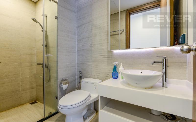 phòng tắm 2 Căn hộ Vinhomes Central Park tầng trung Park 1 thiết kế hiện đại