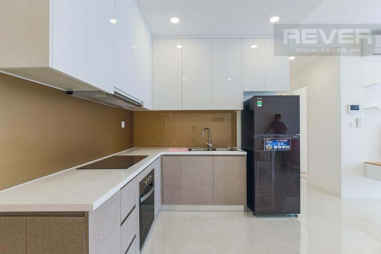 Phòng Bếp Căn hộ Masteri Millennium tầng cao, view sông, 2PN nội thấy đầy đủ