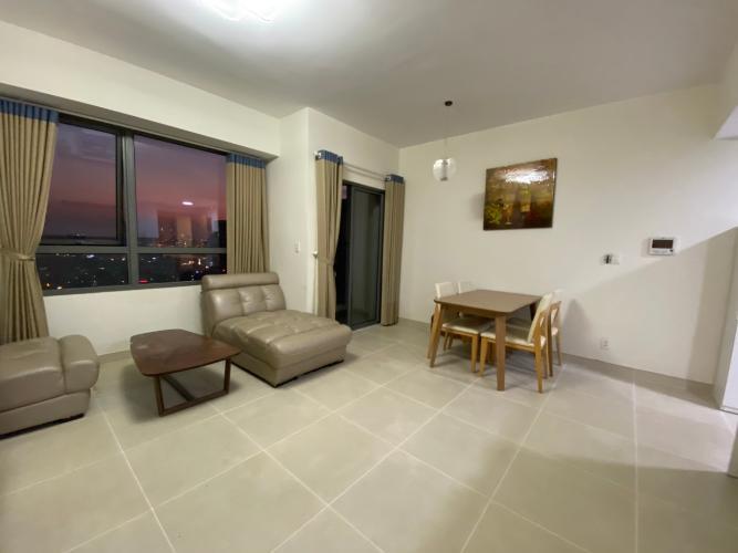 Phòng khách căn hộ Masteri Thảo Điền Căn hộ Masteri Thảo Điền 1 phòng ngủ, view sông thoáng mát.