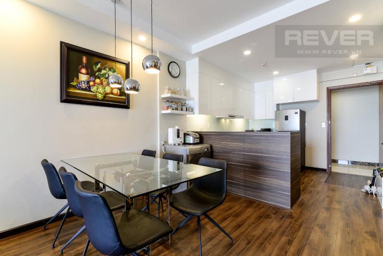 Phòng Ăn & Bếp Bán căn hộ The Gold View 2PN, tháp A, đầy đủ nội thất, hướng Đông Bắc, view hồ bơi và kênh Bến Nghé