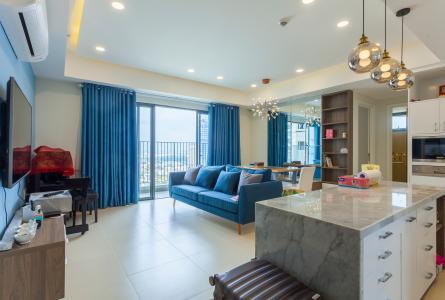 Căn hộ Masteri Thảo Điền tầng cao T5 đầy đủ nội thất, 3 phòng ngủ
