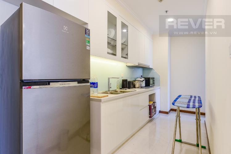 Bếp Bán căn hộ Vinhomes Central Park tầng cao, 1PN, đầy đủ nội thất