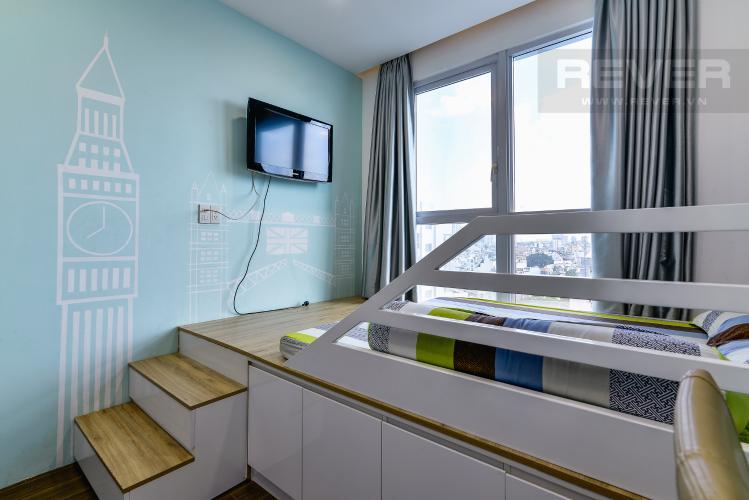 Phòng Ngủ 2 Bán căn hộ The Prince Residence Phú Nhuận 2PN, nội thất đầy đủ