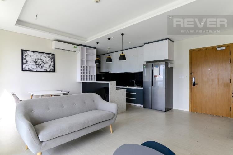 Phòng Khách Bán hoặc cho thuê căn hộ Diamond Island - Đảo Kim Cương 2PN, tháp Bora Bora, đầy đủ nội thất, view sông mát mẻ
