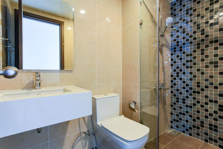 Phòng Tắm 2 Căn góc The Tresor 3 phòng ngủ tầng cao TS1 view sông