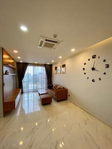 Phòng khách căn hộ PHÚ MỸ HƯNG MIDTOWN Cho thuê căn hộ Phú Mỹ Hưng Midtown 2PN, diện tích 89m2, đầy đủ nội thất, hướng ban công Đông Nam