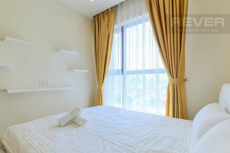 Phòng Ngủ 2 Cho thuê căn hộ Masteri Millennium tầng trung, đầy đủ nội thất, 2PN