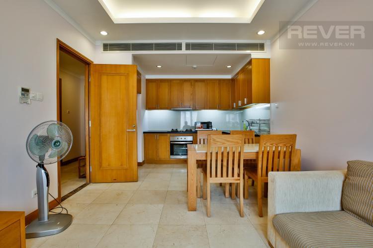 Phòng Khách Căn hộ Saigon Pavillon 1PN đầy đủ nội thất