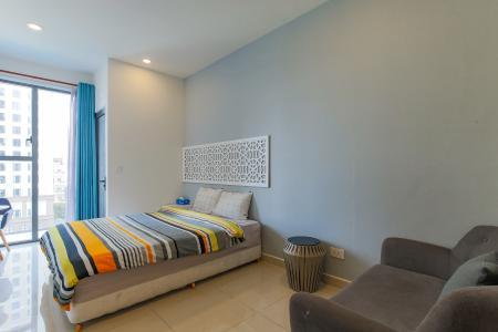 Bán căn hộ The Tresor 1PN 1WC, đầy đủ nội thất, view hồ bơi