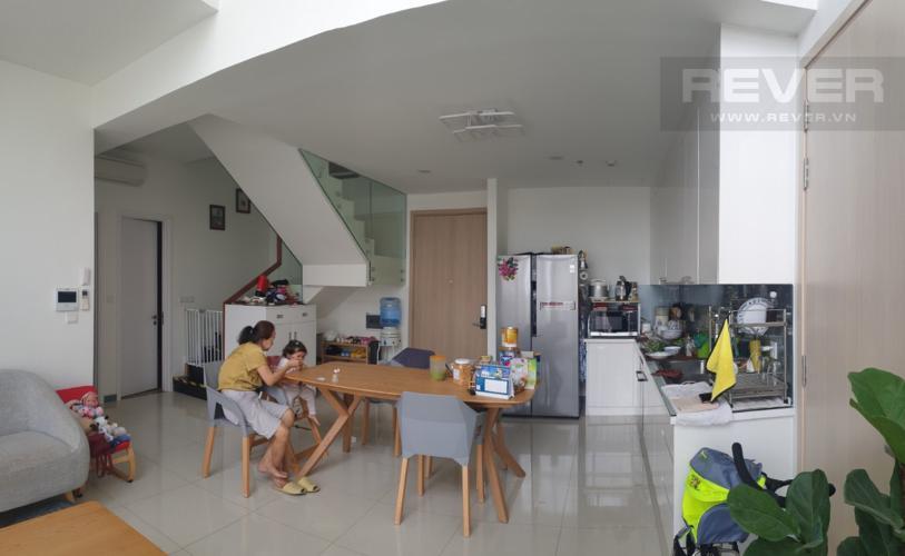 Phòng Khách Bán duplex Estella Heights 4PN, tháp T3, diện tích 182m2, đầy đủ nội thất