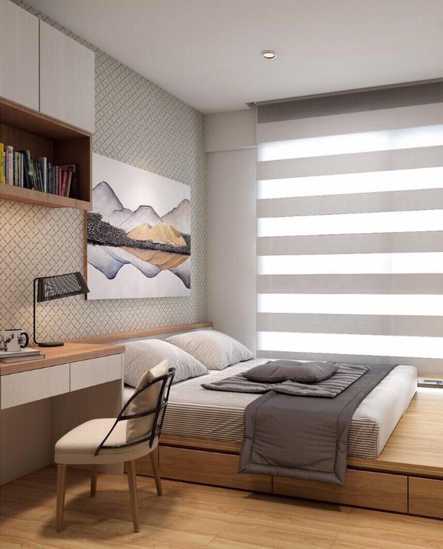 90be960ddfbe38e061af Bán căn hộ Masteri Millennium 2PN, block A, diện tích 60m2, đầy đủ nội thất, view Bitexco